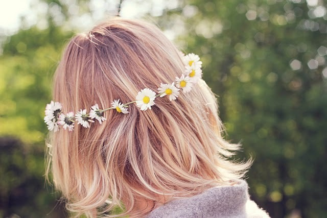 blonde, colors, cute, fashion, flower