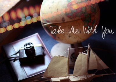 boat, camera, earh, photography camera, take, take me with you, travel, with, you