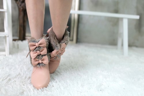Bows cute cute shoes