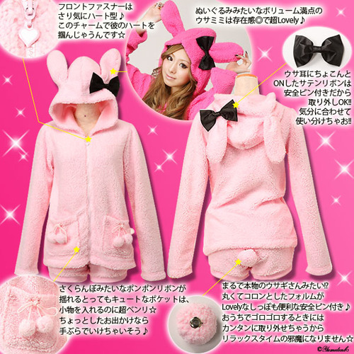 bunny, cute, fashion, japanese, kawaii