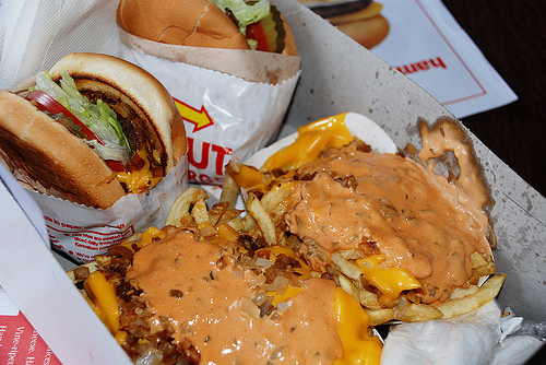 burger, cheese, fast food, food, fries