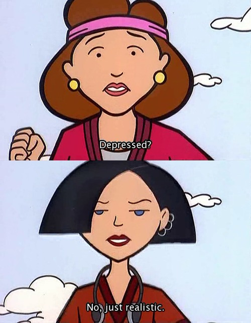 cartoon, daria, text