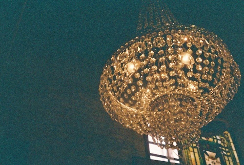 chandelier, light, photography, vintage