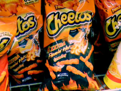 cheetos, chips, food, good, hot, snacks, xxtra hot, yummy