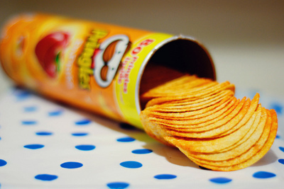 chips, potato, pringles, separate with comma