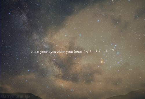 clear, hear, heart, let it go, photography, quote, text, sky, separate with comma, typography