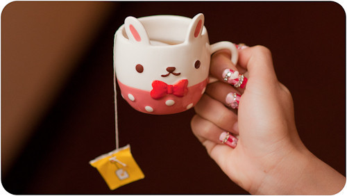 cup, cute, separate with comma