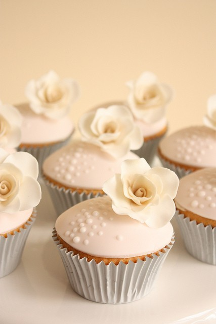 cupcakes, food, photography, pretty food, rose, separate with comma, style, sweets, vintage, white
