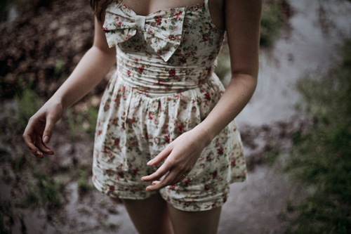 cute, dress, fashion, floral, girl, photography, romper, teenager