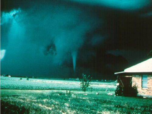 cyclone, field, nature, tornado, twister
