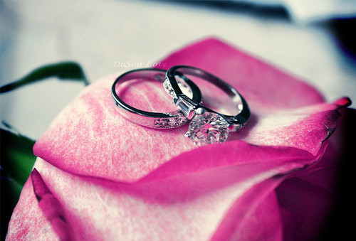diamonds, forever, love, marriage, pink, rings, southernbelle, wedding