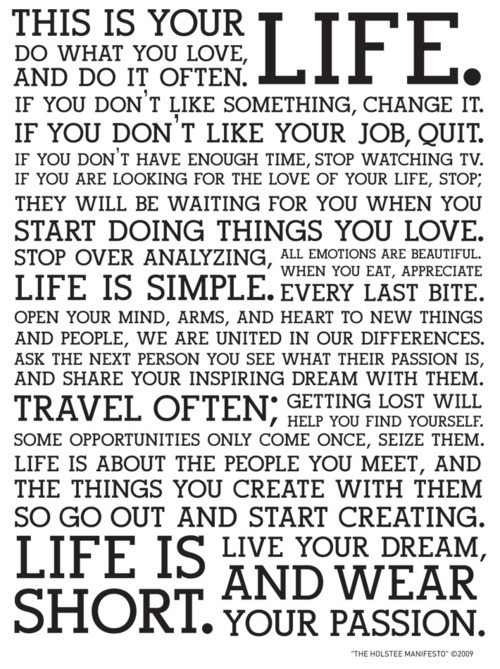 dream, life, love, passion, simple, text, words