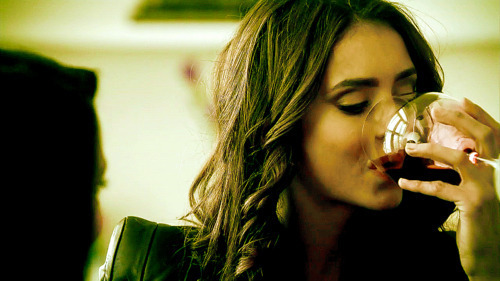 drink, girl, katherine pierce, nina dobrev