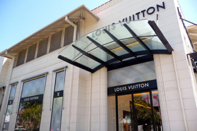 fashion, glamour, louis vuitton, store, window display