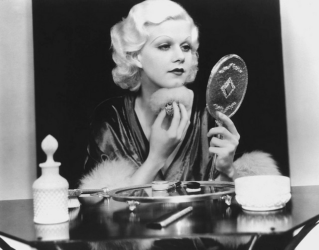 actress, jean harlow, pretty, vintage