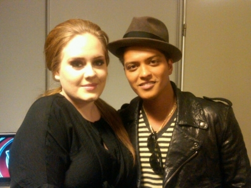 adele, bruno mars, gorgeous