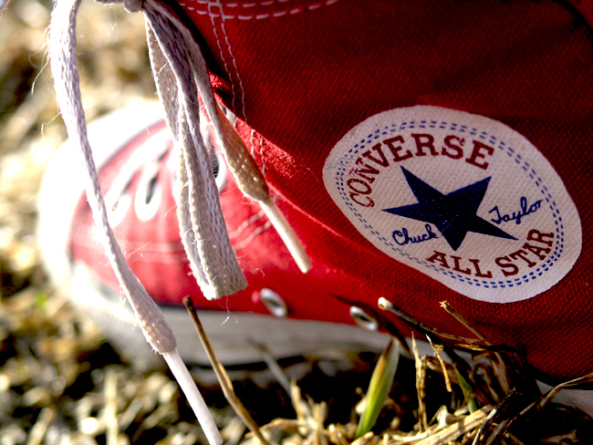 allstar, converse, red, shoe, shoes