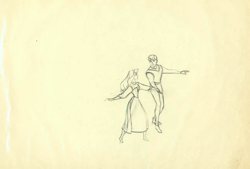 animation, disney, girl, pencil test, prince