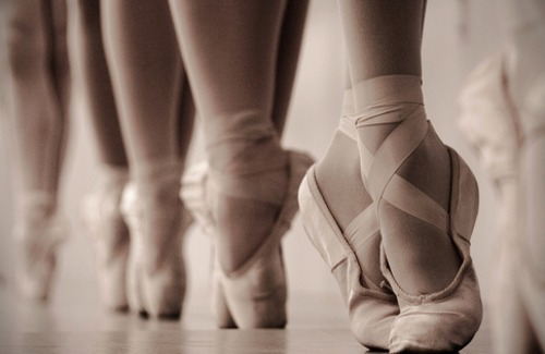 ballet, ballet shoes, cute, sad