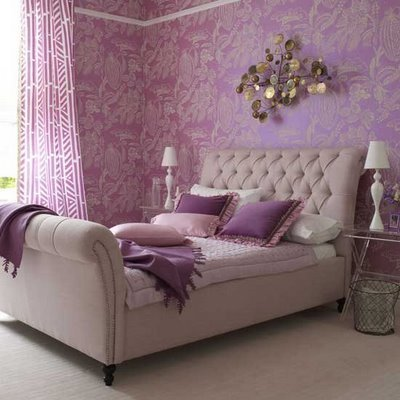 bedroom, decor, pink, pretty