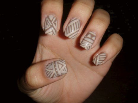 bestfriend, jorika, nail art, nails, triangles