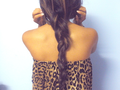 braid, cheetah, girl, photography, skinny