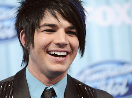 adam, adam lambert, black, blue, emo