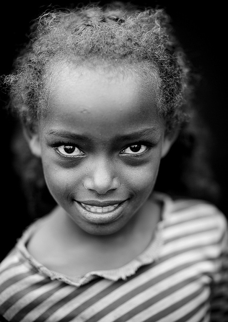 africa, child, girl, smile