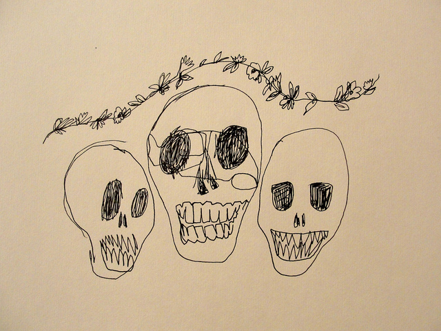 alexandra gallegos, cool, day of the dead, dead, death