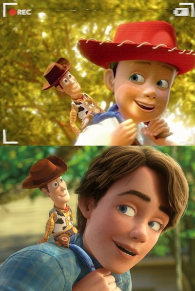 andy, friends, toy story 3, tvm
