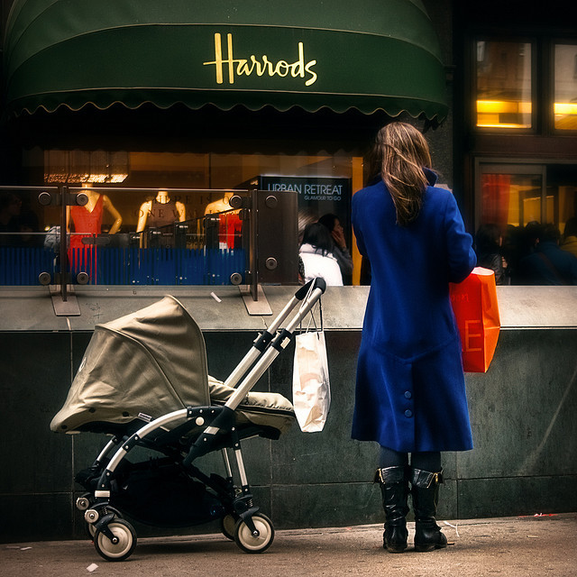 baby, beautiful, fashion, girl, harrods