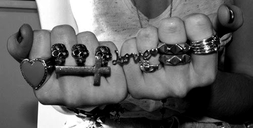 black and white, girl, hand, heart, jewelry