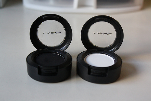 black, gesso, mac, make up, makeup