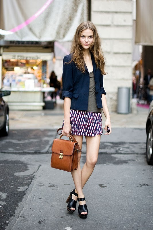 blazer, brunette, clogs, fashion, girl