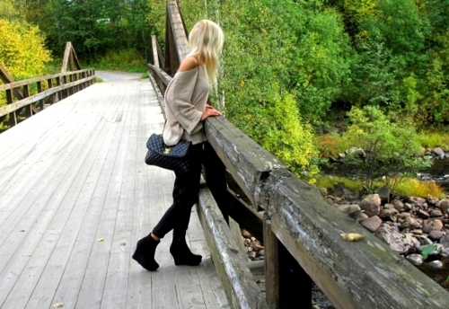 blonde, fashion, girl, nature, photography