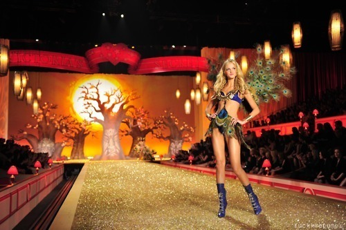 blonde, feathers, model, pretty, victorias secret fashion show