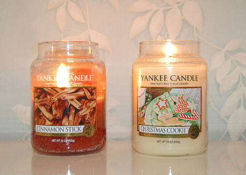 candle, christmas, cookie, cute, fashion, photography, sweet, yankee candle