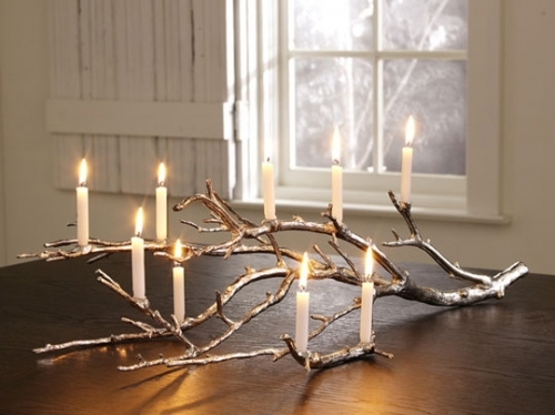 candles, design, fire, wood