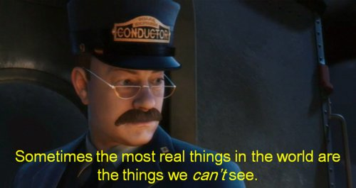 cartoon, movie, mustaches, polar express, quote - image ...