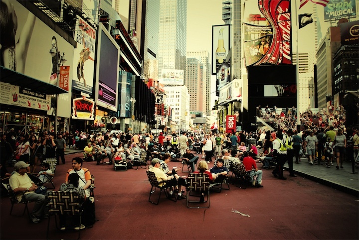 city, crowd, new york, nyc, people