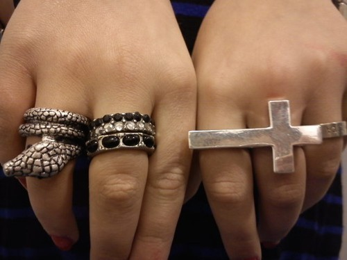 cross, fashion, hand, jewelry, milica, ring, rings, snake