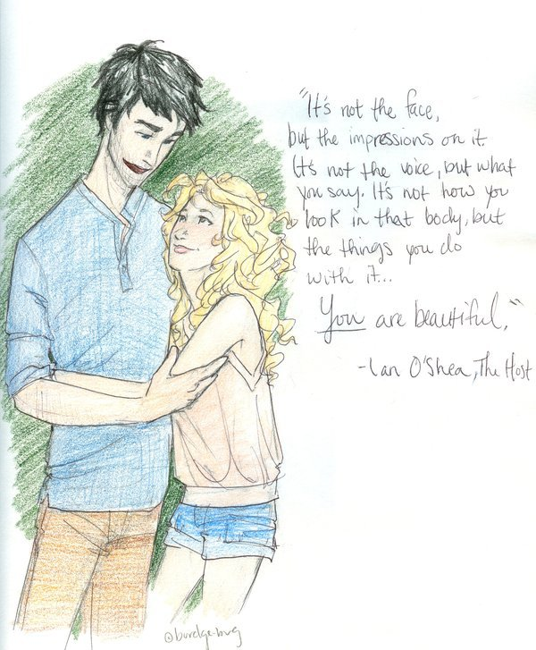 fan art, ian, text, the host, wanda