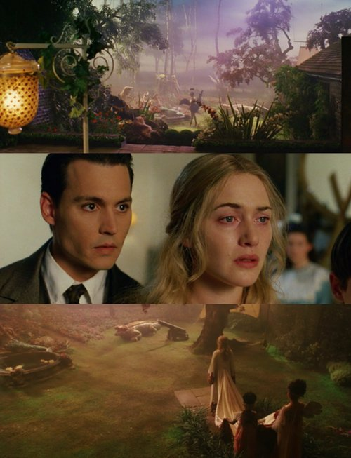 finding neverland, jm barrie, johnny depp, kate winslet, peter pan