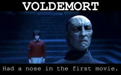 first movie, harry potter, nose, voldemort - image #154822 ...