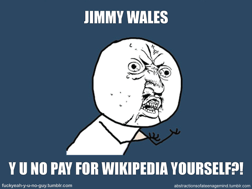 funny, text, wikipedia, y u