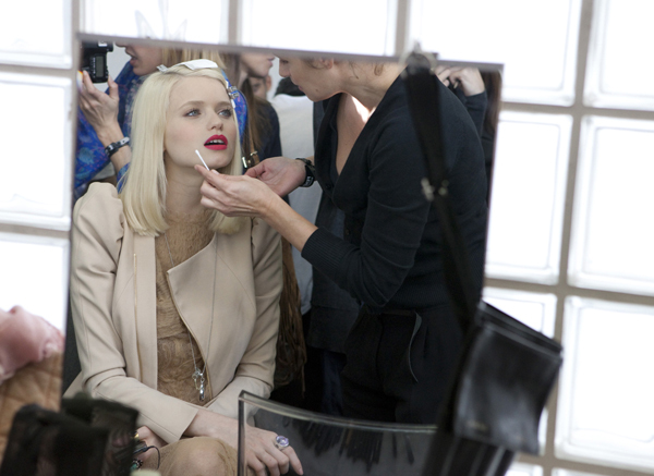 abbey, abbey lee, abbey lee kershaw, backstage, make up