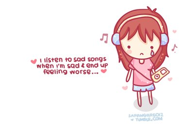 adorable, cry, cute, mp3 player, music