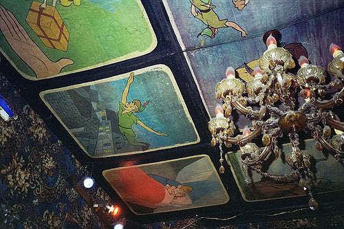 alice in wonderland, animated, animation, cartoon, ceiling