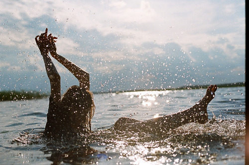 amazing, clouds, cool, drops, epic, fun, girl, photography, splash, water
