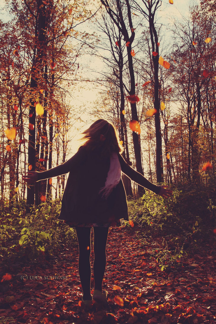 autumn, beauty, colorful, fall, girl